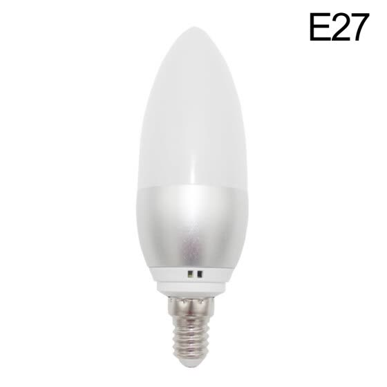 Bluelans E27/E14 RGB LED Candle Lamp Light WiFi Voice Control Smart Bulb for Google Home
