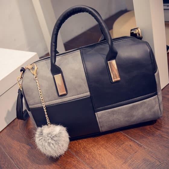 Dalfr Leather Handbags Women Luxury Pu Shoulder Bag Designer Crossbody High Quality Famous Brand