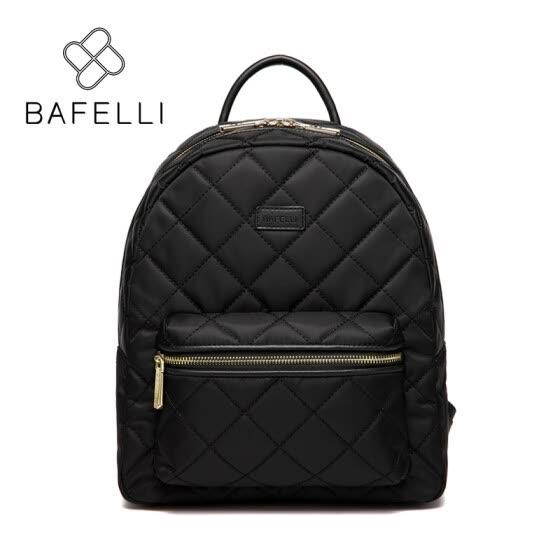 BAFELLI parachute nylon material diamond lattice backpacks high quality for teenage  girls waterproof backpacks women travel 6277be5aa017e