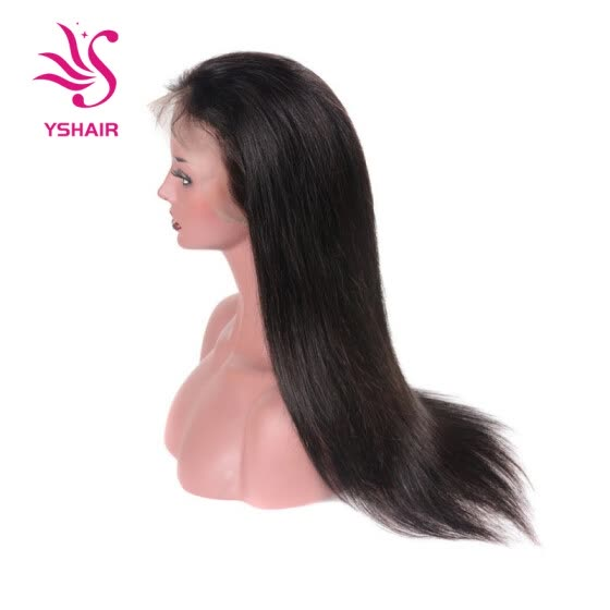 Brazilian Straight Hair Lace Frontal Wig Virgin Human Hair Straight Hair Lace Wig With Natural Line