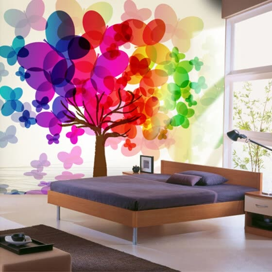 Shop Customized Any Size 3d Wall Mural Wallpaper For Bedroom Wall
