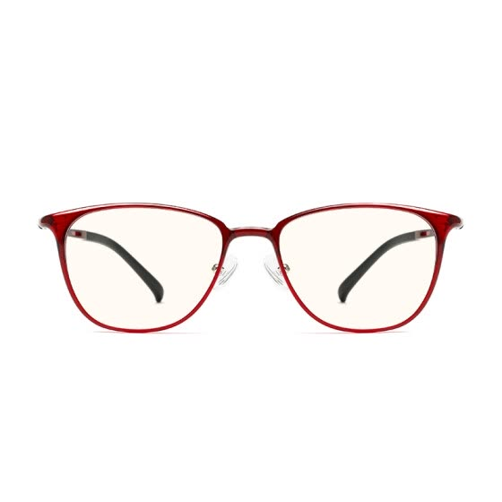 Millet (MI) glasses for men and women TS basic level anti-blue goggles meter home custom version red frame