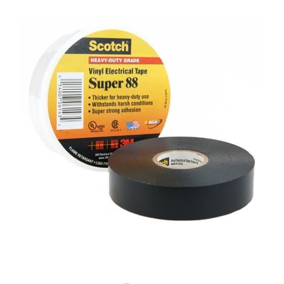 Shop 3MScotch Super88PVC Insulation Tape Single Roll Black