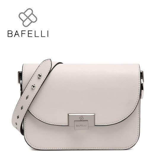 BAFELLI split leather crossbody bag small white hasp flap women luxury  shoulder bag hot sale famous 45b29da877