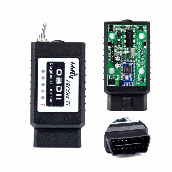 Shop bbfly-BB77102 ELM327 Bluetooth V1 5 modified OBD2 ELMconfig