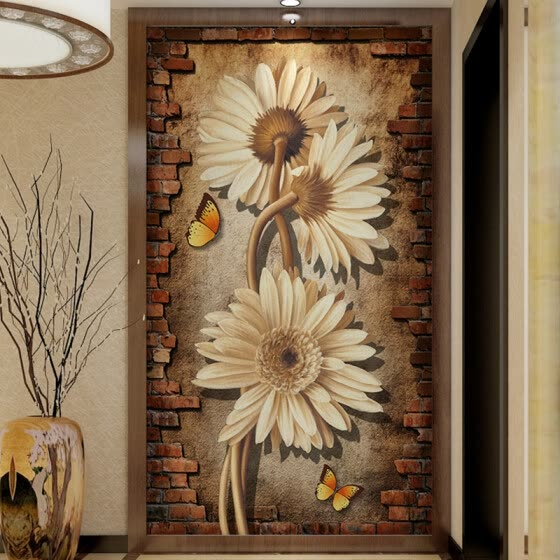 Shop Custom Photo Wallpaper Tv Background Wall Painting Living Room