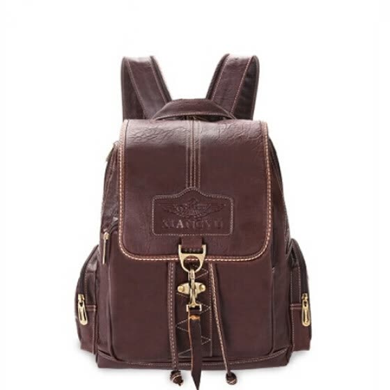 New fashion school bags for women backpack leather school backpacks women travel  bags waterproof retro vintage c725053987