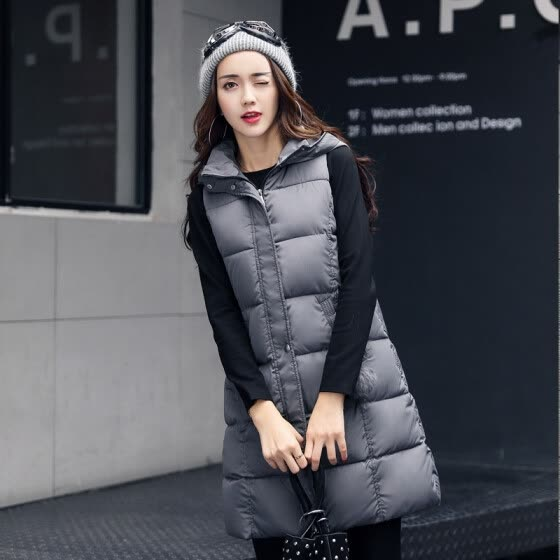 Shop 2017 Autumn And Winter New Arrival Women S Large Sized Hooded
