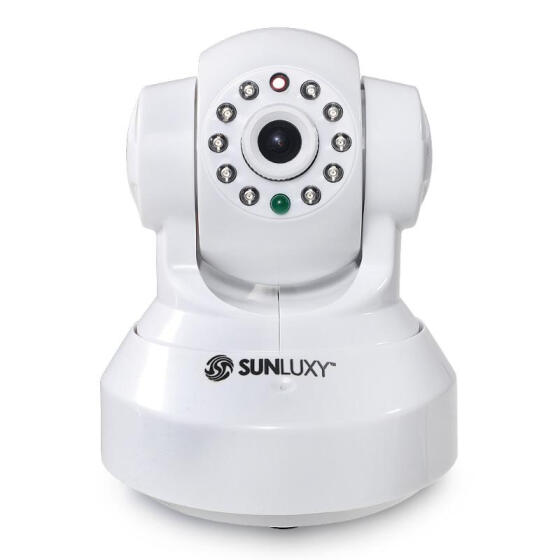 SUNLUXY CCTV Wireless Wifi 720P HD H.264 P2P P//T IP Network IR Security Camera