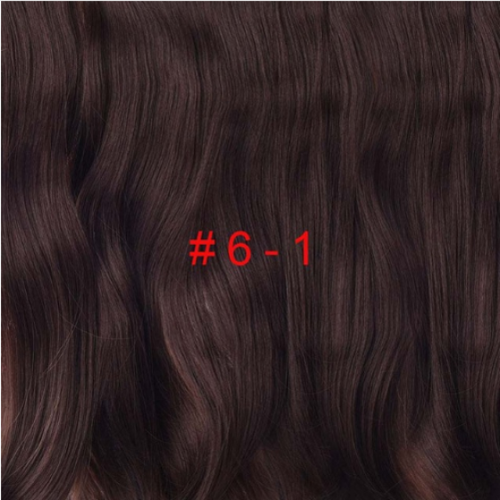 "Long 24"" Stretched Wavy clip in Synthetic Hair Extensions 4 Clips One Piece Pure Color Heat Resistant Fiber 190g/piece"