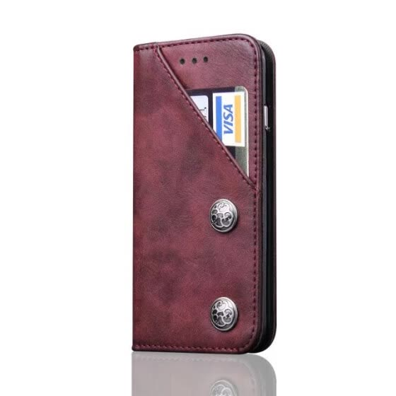 Adtismark For iphone x Case Genuine Leather Case for iphone X Cover Fashion Design Magnetic Wallet Card Slot Phone Bag free ship