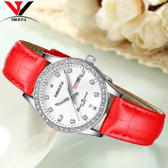 869177c4eeb5 New NIBOSI Brand Women Watches Quartz Watch Ladies Luxury Bracelet Wrist  Watch Women Female Clock Montre