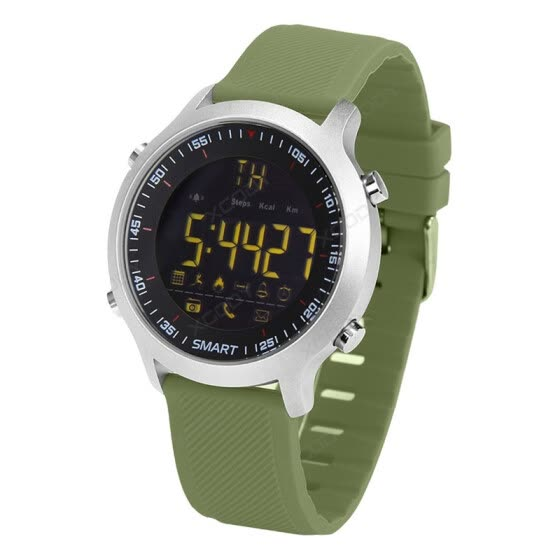 a068a02b956 EX18 Waterproof IP68 Smart Watch 5ATM Passometer Message Reminder Ultra-long  Standby Swimming Sports Activities