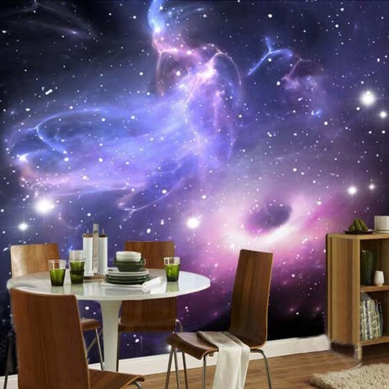 Shop Custom Any Size 3D Wall Mural Wallpaper For Bedroom Walls ...