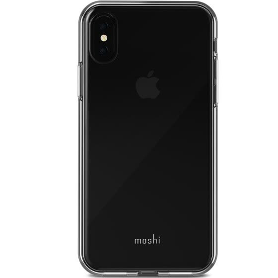 Moshi Moss iPhone X Mobile Shell Apple X Bright Slim Protective shell Bright side shell All-inclusive shatter-resistant Soft shell Vitros Crystal clear