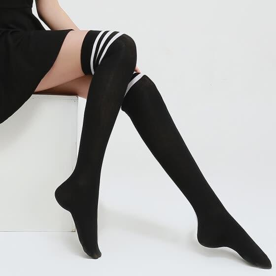81e3f5b1b8df4 Langsha stockings female Korean version of the knee socks female college  wind Japanese high tube half