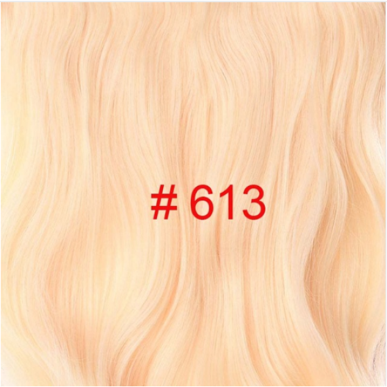 Long Wavy Clip in Synthetic Hair Extensions 24 inch 190G/PC 4 Clips Heat Resistant Fiber 17 Colors For Women