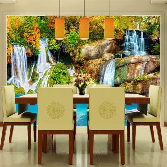 Shop Nature Landscape Custom 3D Wall Mural Wallpaper Small