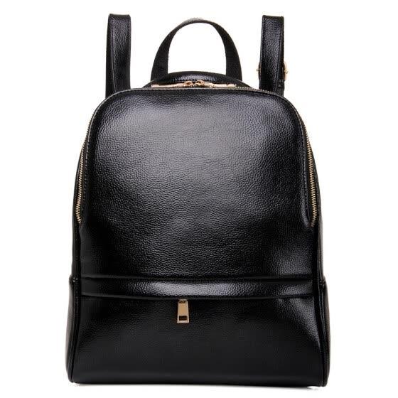 7cfaedfb56fe году моды женщины рюкзак кожаные черного сумку большие школьные сумки для  подростков девочек из поездки пешие