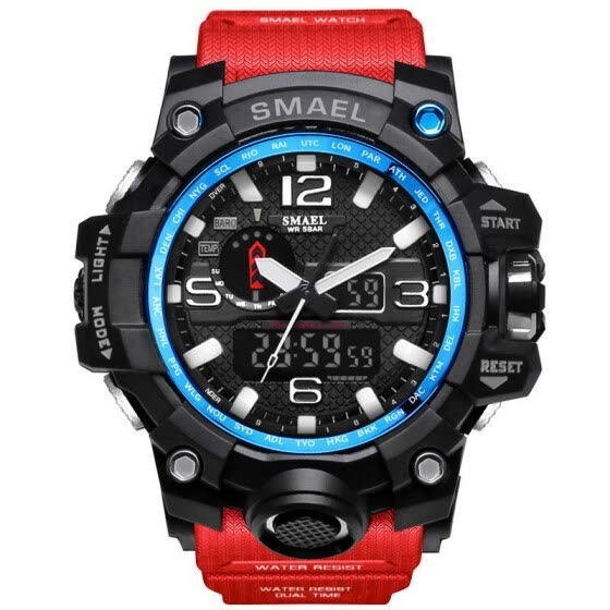 Military Watch Digital SMAEL Brand Watch S Shock Men's Wristwatch Sport LED Watch Dive  50m Wateproof Fitness Sport Watches