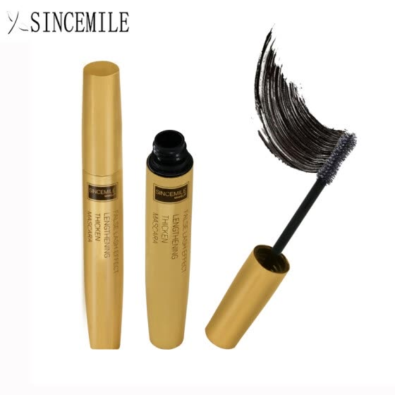 SINCEMILE Brand Professional 3D Black Mascara Makeup Volume Curling Thick eyelashes Waterproof Fashion Mascara beauty Cosmetics