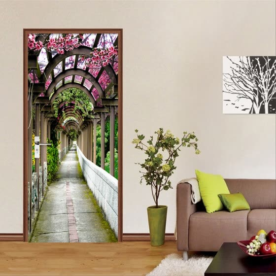 Shop 3d Stereo Flowers Gallery Photo Wall Mural Creative Diy