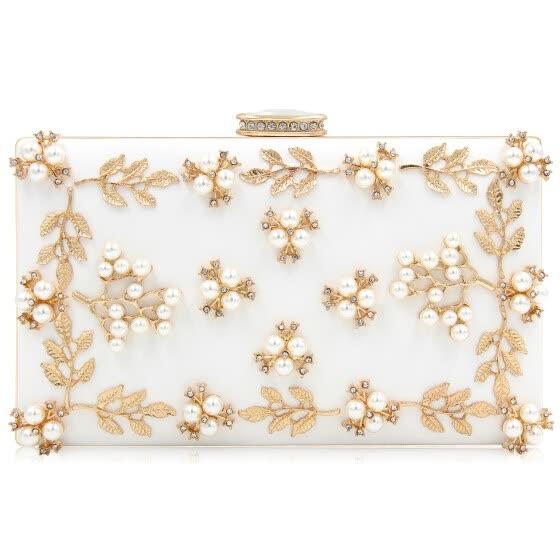c16b2e806f3 Milisente 2018 Women Evening Bags Fashion Beaded Clutch Bag Female Wedding  Clutches Purses High Quality