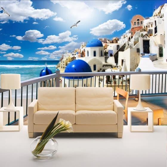 Shop Custom photo wallpaper bedroom sofa TV background