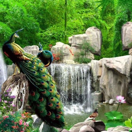 Shop 3D Wall Mural Natural Scenery Wallpaper Landscape