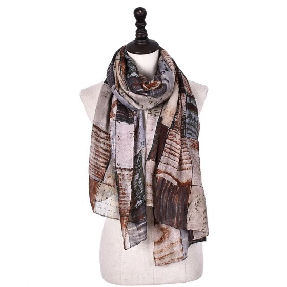 Jeouly Fashion lady long Scarf Designer Brand Fashion Scarfs Winter Warm Plaid Print Spring Scarves For Women wholesale