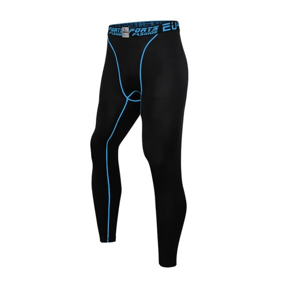 MECH-ENG Men's Sport Pants Compression Tight Pants Base Layer Running Leggings