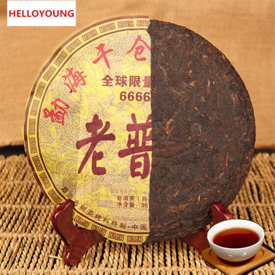 C-PE024 China pu er Wholesale 357 grams Chinese puer tea, Chinese Yunnan Pu'er tea health tea, green food weight loss cha