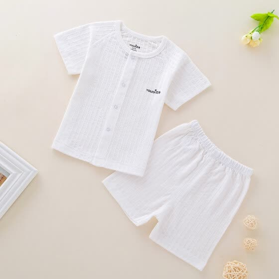 1d11f47ed109 Baby Clothes Summer Short Sleeve Boy Clothing Cotton Baby Girl Clothes Cool  Soft Outfit Suit Infant