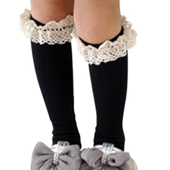 ea5f9c786d474 ROPALIA малышей дети девушки кружева носки хлопка школе высокие гольфы  колготки чулки