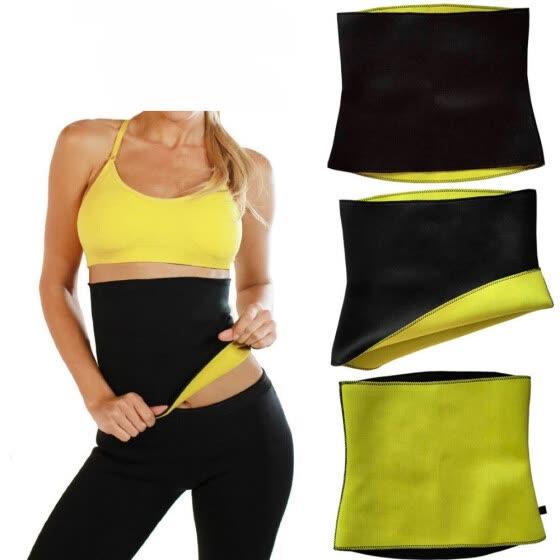 317a141ad6d Hot Shapers Thermal Slimming Waist Belt Shaper Sauna Fitness Slimming  Workout Women Body Shaper Sports Vest