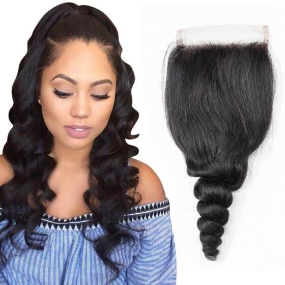 578db3cea6e06 Candace Brazilian Loose Wave Hair Lace Closure 4