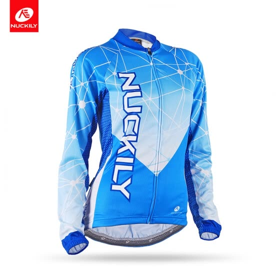87f669fc3 NUCKILY Spring Autumn Cycling Clothing Cool Design Long Sleeve Bicycle  Jersey For Women GC005