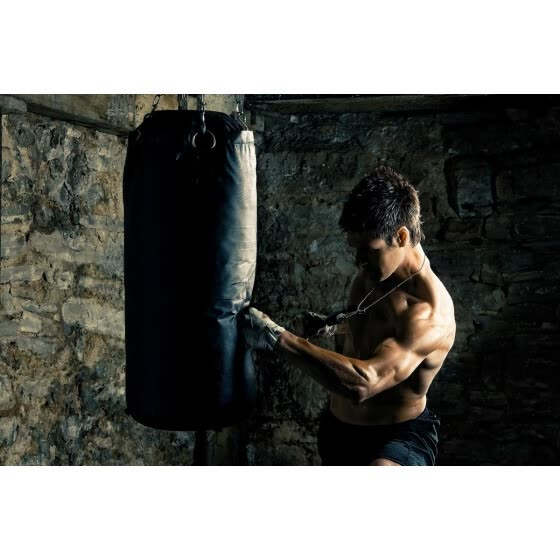 boxer punching Sports Boxing  living room home art decor fabric posters prints