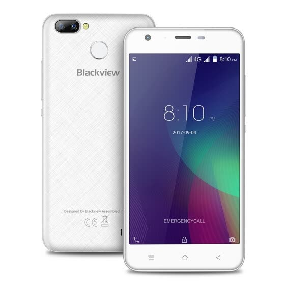 Blackview A7 Pro 4G Smartphone 5.0-дюймовый Android 7.0 MTK6737 Quad Core 1,3 ГГц 2 ГБ оперативной памяти 16 ГБ ROM 8.0MP + 0.3MP Dual Rear Cameras