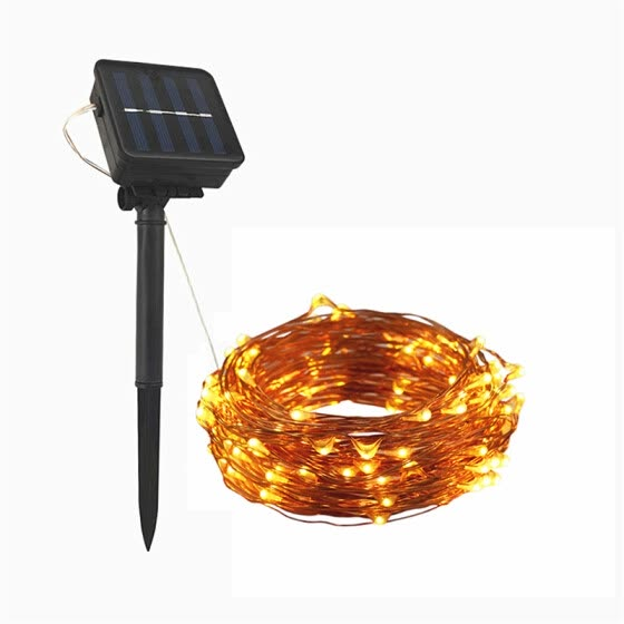 Clear Christmas Lights.Shop Flexible Copper Led Strip Lights Powered Wire 10m 100