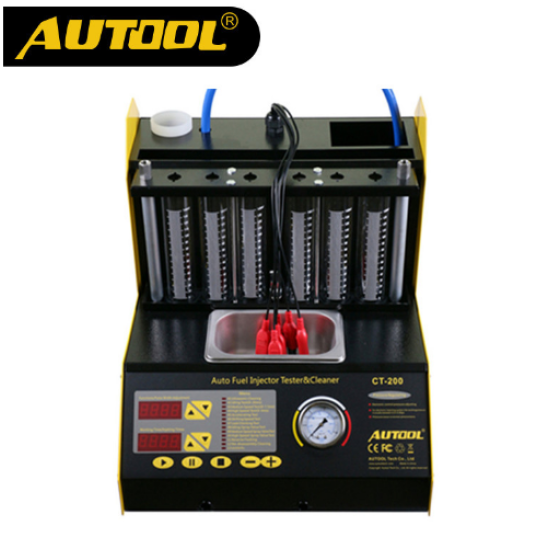 AUTOOL Gasonline 6/4 Cylinder CT200 Car Motorcycle Auto Ultrasonic Injector Cleaning Tester 220/110V Better than Launch CNC602A