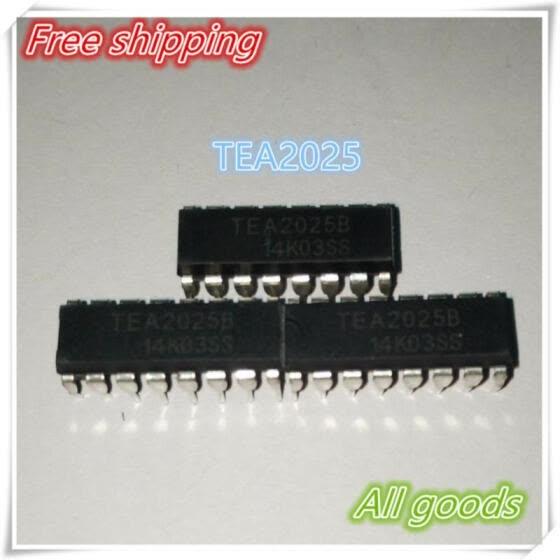 Shop 100pcs/lot free shipping TEA2025 TEA2025B A2025 (9-12V) DIP-16