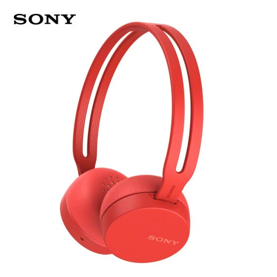 SONY WH-CH400 Bluetooth wireless headset stereo headset (red)