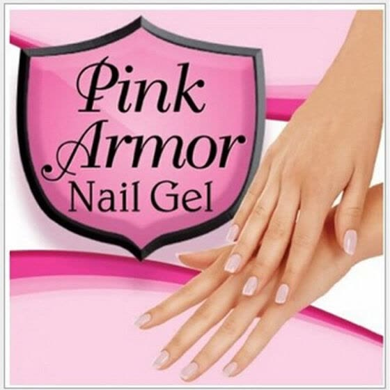 Hot Sales Pink Armor Nail Gel Polish Remedy Fix Protective Layer Keratin-Gel