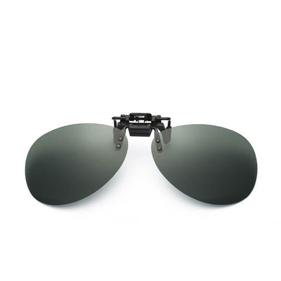 f10ddc8f1e9 LIKEU S New Polarized Clip Sunglasses for Men Women UV400 Clamps Frameless  Eyeglasses Men Driver Eyewear Clip
