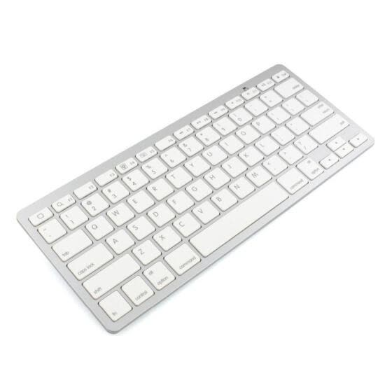 Wireless Bluetooth Mini white Keyboard for Apple iPad 3 4 5 iphone Mac PC computer