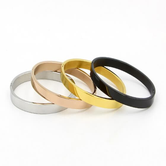 Korean jewelry influx of people with the same couple bracelet titanium steel bracelets for men and women Korean fashion jewelry