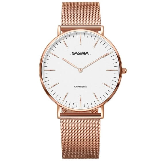 2018 new fashion casual watch simple two hands quartz women'swatch nylon leather  strap waterproof ladies wristwatches5144