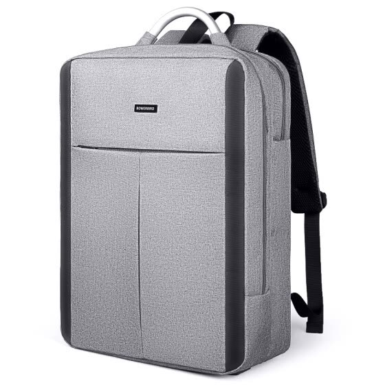 BOWERBIRD Men's Backpack Business Casual Large Capacity Computer Bag Multifunction Backpack Male 14 Inch 1185090165 Gray