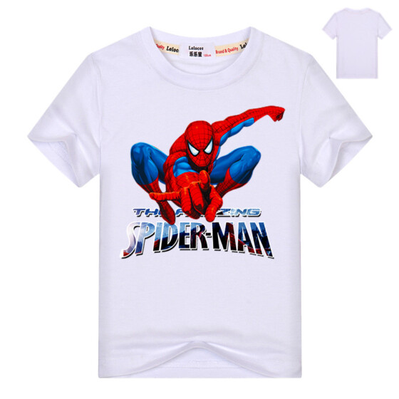 Marvel Spider-Man Toddler Blue Long Sleeve T-Shirt Sweatshirt Size 3T NWT